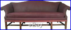 17732 Chinese Chippendale Camel Back Sofa