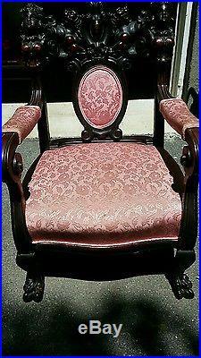 1860-1880 antique chair victorian