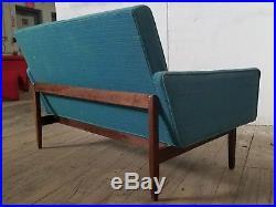 1950s Danish mid century modern Jens Risom Loveseat/Sofa