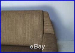 1960s Danish mid century modern three seat sofa