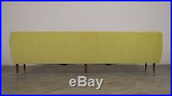 1960s Mid Century Sofa Completed Restore New Fabric Excellent