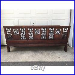 1960s Vintage Asian Rosewood Sofa