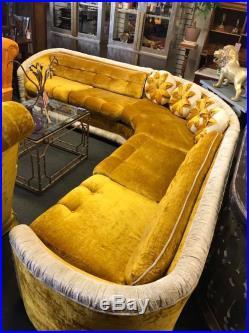 1970u2032s Hollywood Regency Sofa Sectional