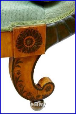 19th Century Swedish Birch Neo Classical Sofa