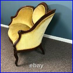 19th Century Victorian Parlor Sofa Love Seat
