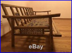 2 Mid Century Modern Ficks Reed vintage couches (rattan, Boho, Antique)