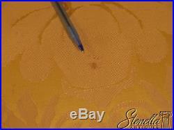 43977E KITTINGER CW-154 Mahogany Settee In Scalamandre Fabric