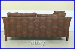 50902EC STICKLEY Mission Oak Arts & Crafts Style Sofa
