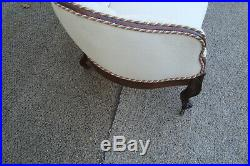 60615 Antique ROSEWOOD Loveseat Couch Chair