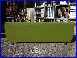 60's Adrian Pearsall Style Tufted Gondola Sofa Mid Century Modern Baughman Era