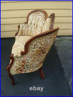 61247 KIMBALL Victorian Mahogany Sofa Loveseat Chair