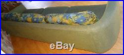 8 FOOT Mid Century Couch Pearsall ORIGINAL Beautiful Upholstery
