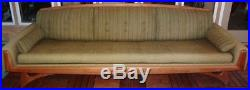 9 FOOT Mid Century Couch Pearsall Kroehler American Leisure Collection ORIGINAL