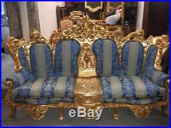 Antique Italian Rococo Living Room 5 Pieces