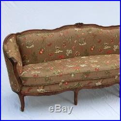 A Century Furniture Louis XV Style Carved Walnut Sofa from 2015 Fine Upholstery