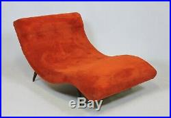 Adrian Pearsall Mid Century Modern Wave Chaise Lounge Chair Sofa Model 108-C
