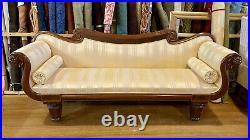 American Classical Empire Sofa. American. C. 1830