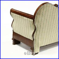 American Classical Mahogany Sofa, 19th century (1800s)
