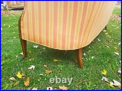 An early 20th century Hitchcock Settee in beautiful colors