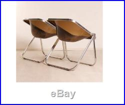 Anonima Castelli Plona folding chairs Giancarlo Piretti Price Reduced
