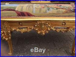 Antique Amazing Deluxe Sofa In Louis XVI Style