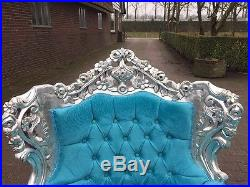 Antique Beautiful Sofa/couch Settee In Unique Design