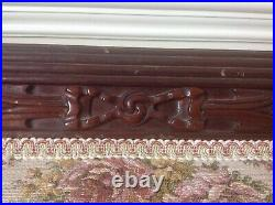 Antique Duncan Phyfe Claw Foot French Style Sofa