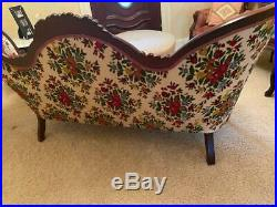 Antique Early 1800s Victorian Style Sofa and 2 Chairs EXCELLENT CONDITION