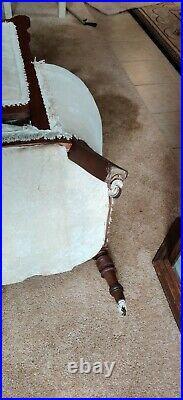 Antique Eastlake Sofa Love Seat Settee 65