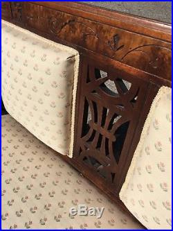 Antique Eastlake Style Sofa