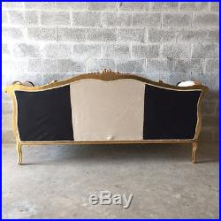 Antique French Louis XVI Style Sofa/settee/couch In Unique Design