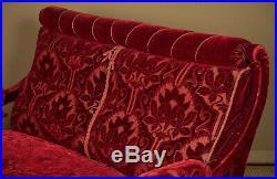 Antique Late 19th. C. Art Nouveau Sofa with Original Upholstery c. 1890
