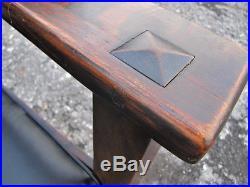 Antique Limbert Drop Arm Settle w5122 STICKLEY ERA
