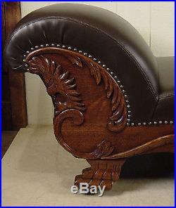 Excellent Antique Oak Fainting Couch Antiques Sofas Ibusinesslaw Wood Chair Design Ideas Ibusinesslaworg