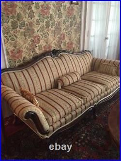 Antique Queen Anne Style Parlor Sofa