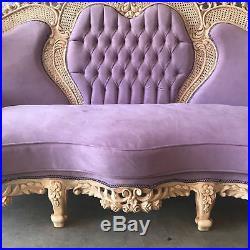 Antique Rococo Sofa/settee/couch In Italian Rococo Style
