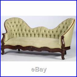 Antique Sofa, A Victorian Mahogany Sofa, 19th century (1800s)