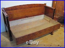 Antique Sofa Original Biedermeier Period