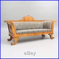 Antique Sofa Original Biedermeier Period 1830