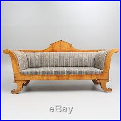 Sofa Original Biedermeier Period 1830