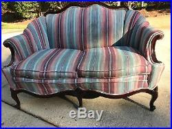 Antique Victorian Loveseat sofa
