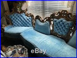 Antique Victorian Sofa Couch 12 feet long BEAUTIFUL