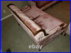 Antique Victorian style sofa set