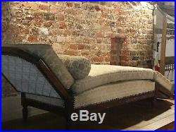 Antique french club meridien day sofa lounger