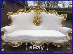 Antique sofa, Rococo, Italian style