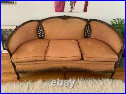 Antique victorian sofa and chairs