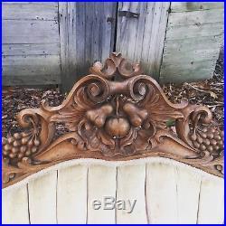 Antique victorian sofa walnut