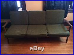 Baumritter style Mid-Century sofa and chair set