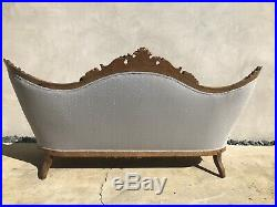 Beautiful Antique Carved Victorian Couch