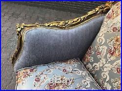 Beautiful Antique French Sofa/love Seat/settee 1880 Louis Xvi. Worldwide Shipping